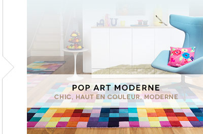 Tendances Pop Art modern