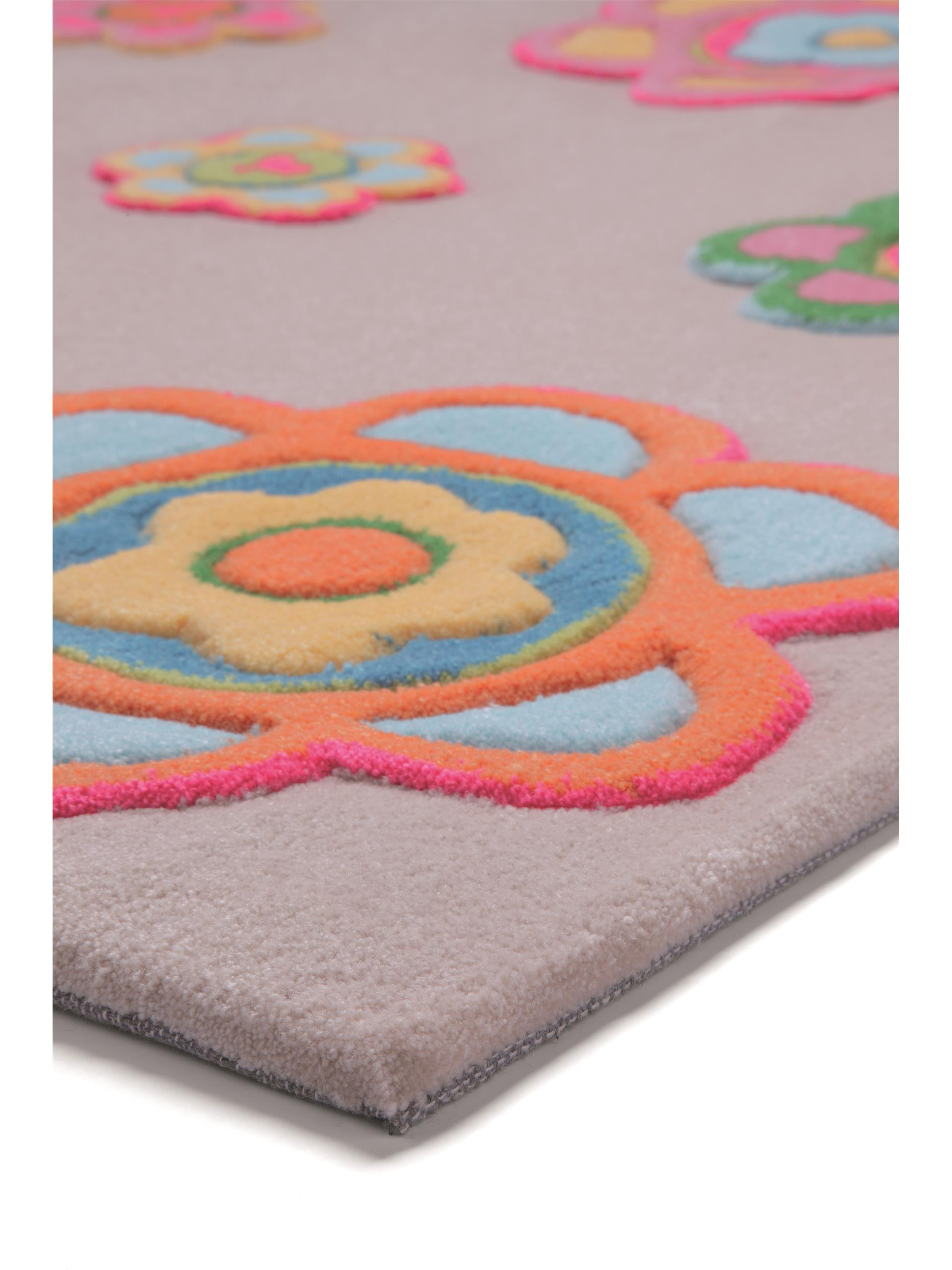 Esprit Kid's rug Back To Flower Power Multicolour 140x200 cm