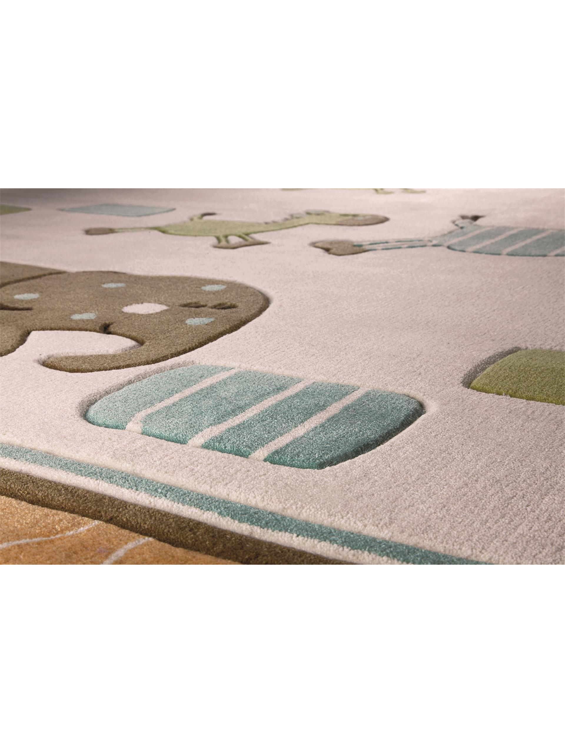 Esprit Kid's rug Lucky Zoo Beige 120x180 cm