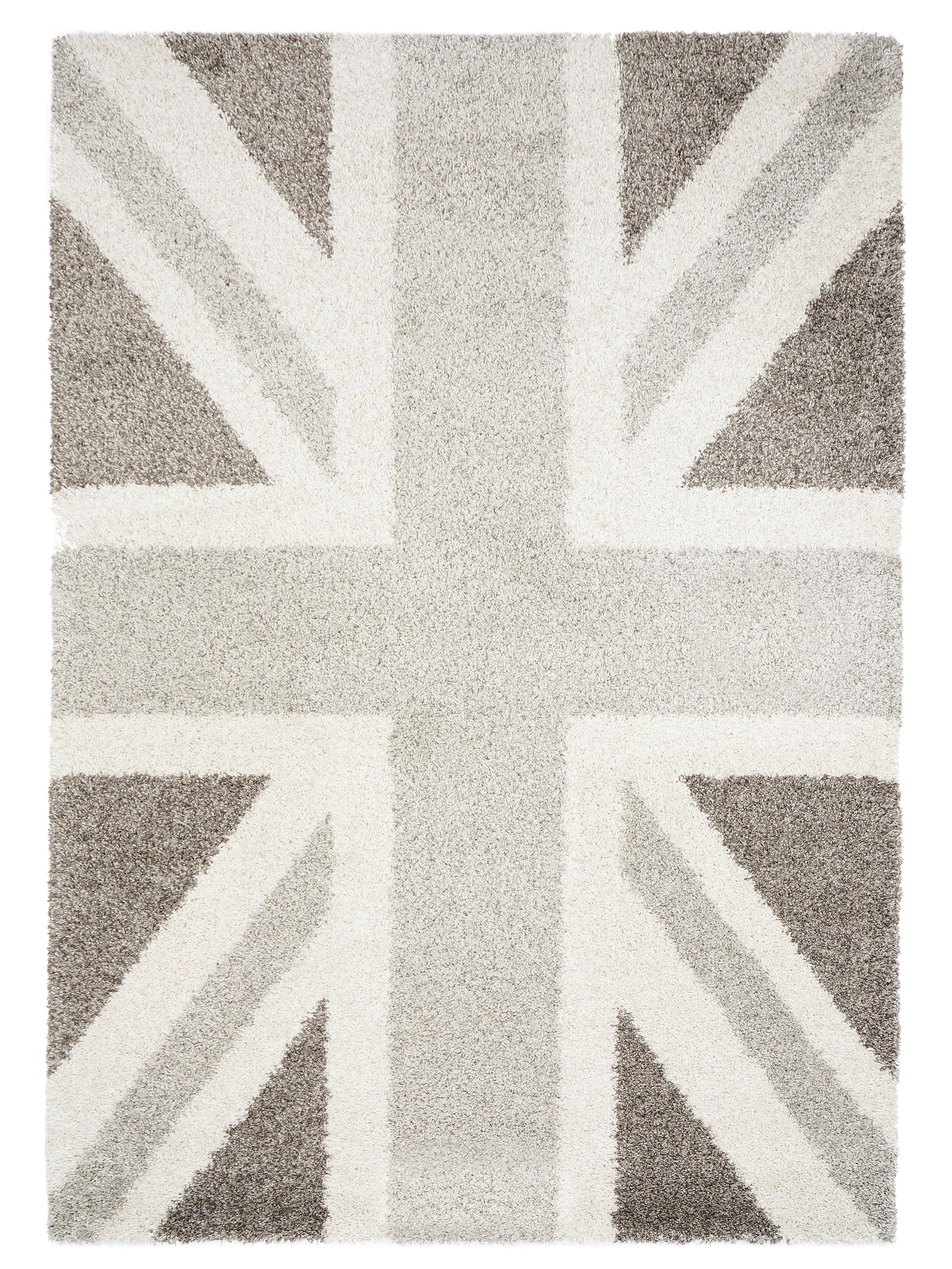 benuta hochflor shaggy teppich graphic union jack multicolor neu ovp ab 94 95 ebay. Black Bedroom Furniture Sets. Home Design Ideas