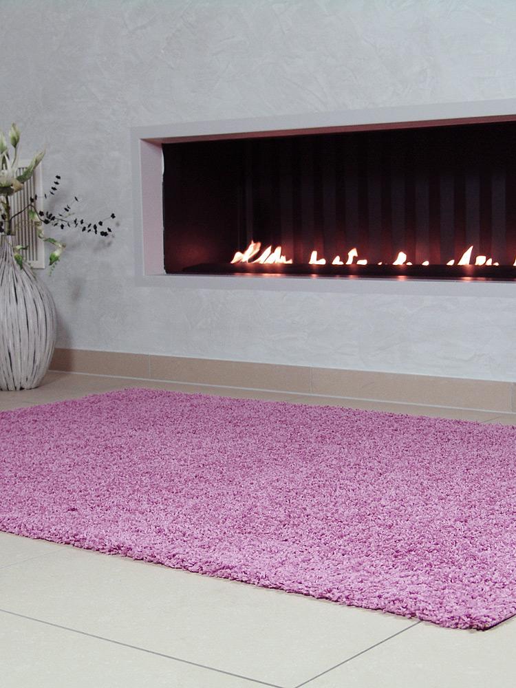 benuta hochflor shaggy teppich swirls rosa pink ab 4 95 neu ovp ebay. Black Bedroom Furniture Sets. Home Design Ideas