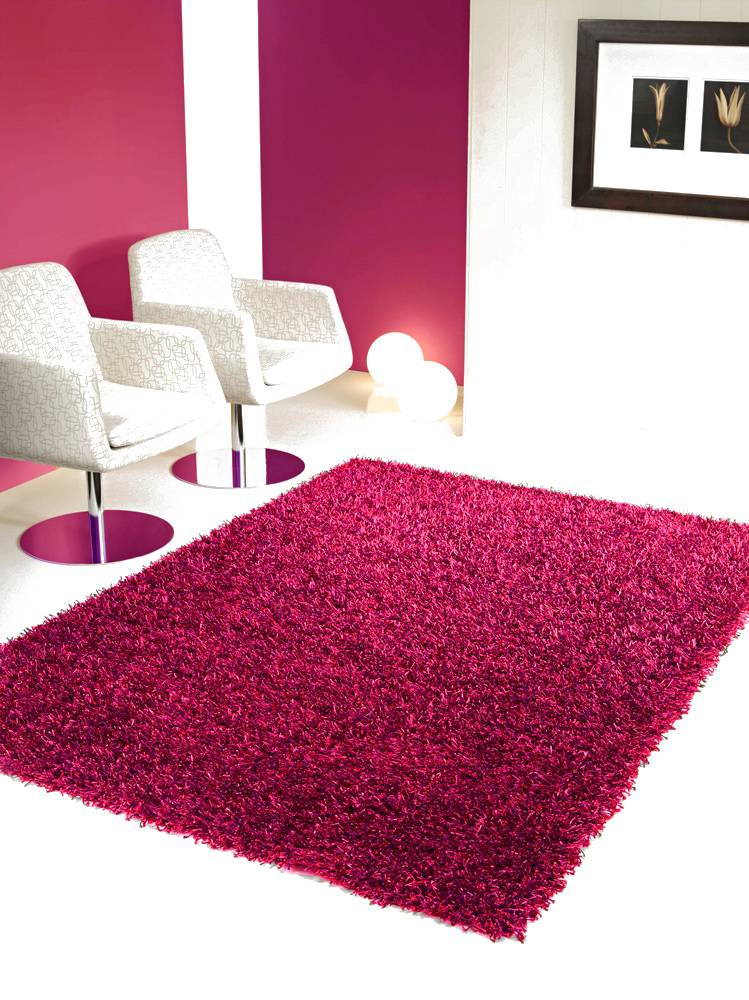 benuta hochflor shaggy teppich jewel rosa pink ebay. Black Bedroom Furniture Sets. Home Design Ideas