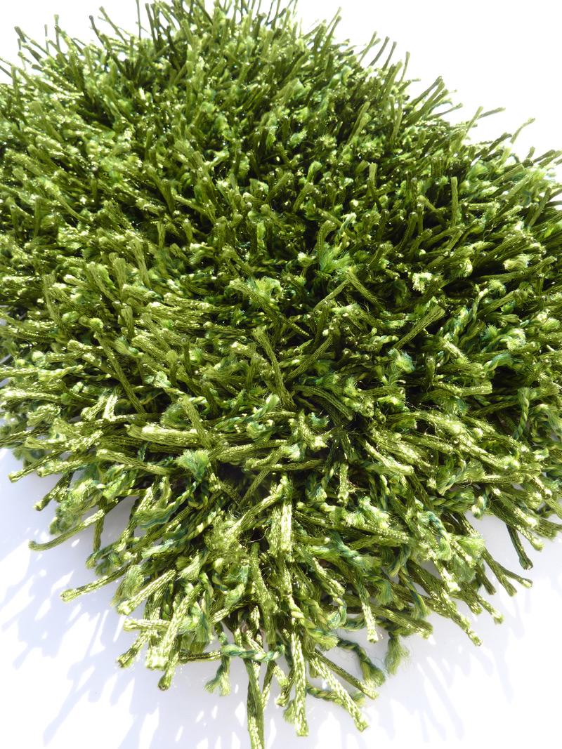 benuta Hochflor Shaggy Teppich JEWEL grün ab 29,95
