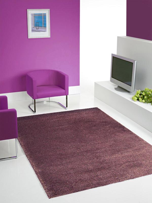 benuta hochflor shaggy teppich electra light violett lila. Black Bedroom Furniture Sets. Home Design Ideas