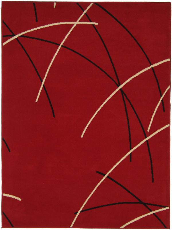 benuta Velours Teppich Swing Linien rot NEU&OVP  eBay