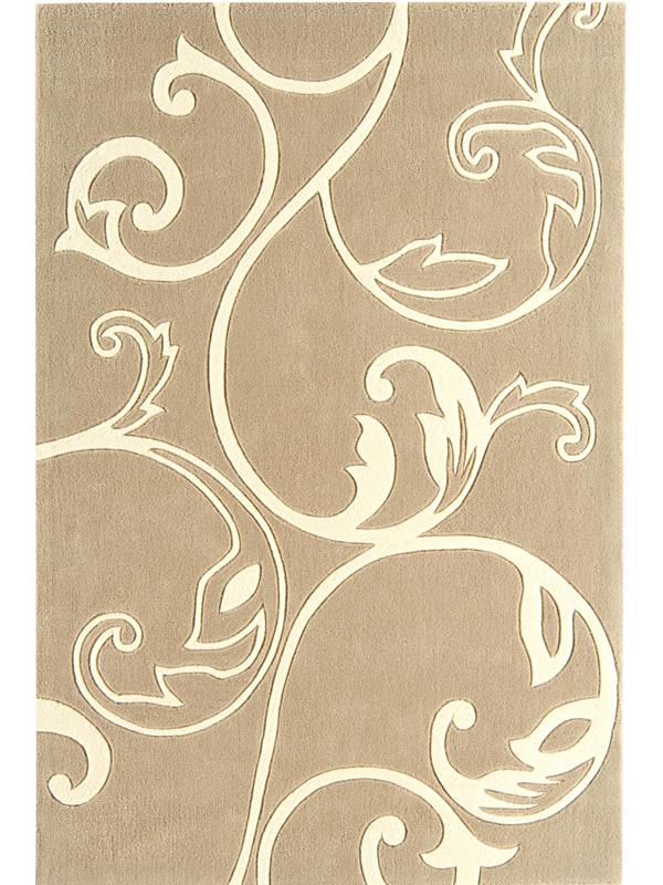 benuta Designer Teppich EDEN BlumenBlüten beige NEU&OVP