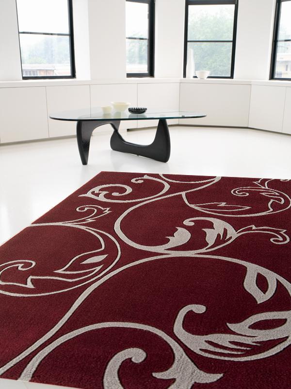 benuta Designer Teppich EDEN BlumenBlüten rot NEU&OVP  eBay