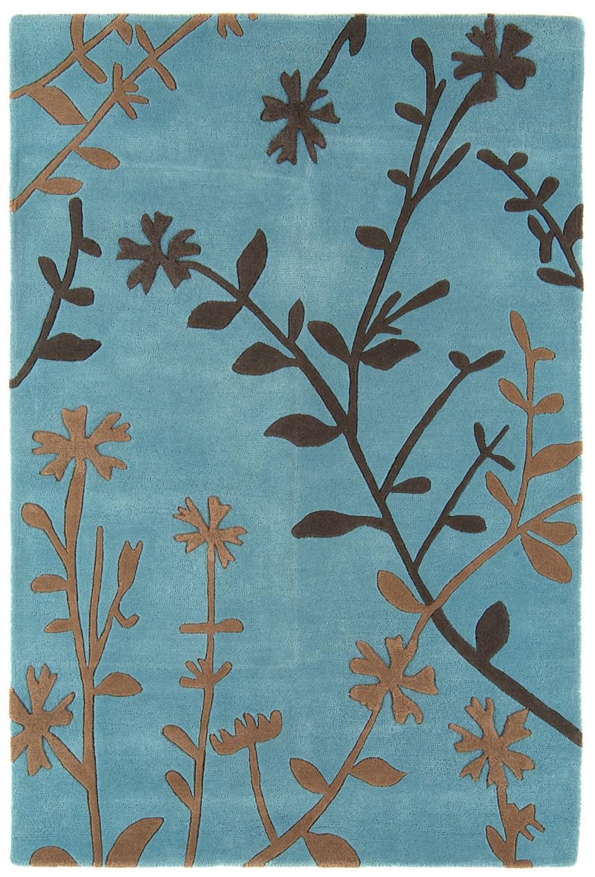 benuta moderner designer teppich matrix wolle blau neu ovp. Black Bedroom Furniture Sets. Home Design Ideas
