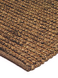 benuta Designer Rug Jute Loop Brown